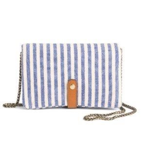Street Level Sela Striped Crossbody Bag